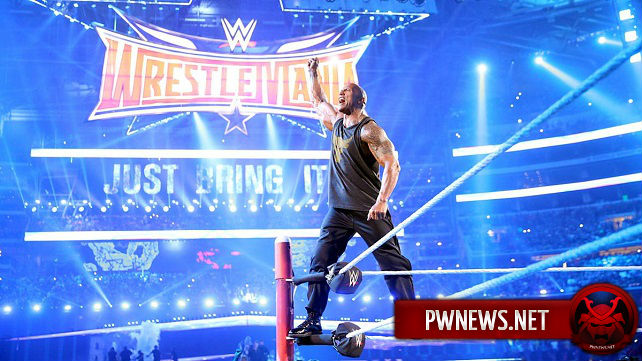 О статусе Рока на WrestleMania 33