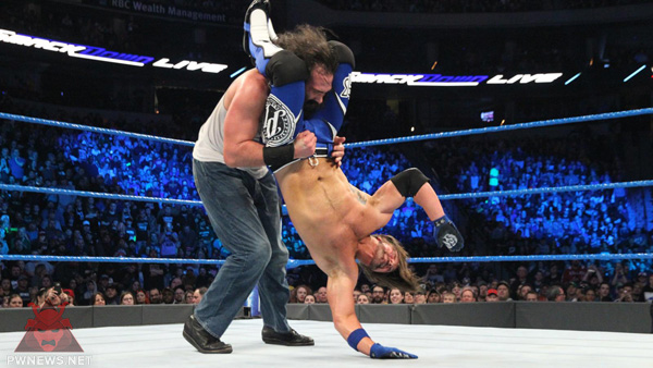 WWE SmackDown Live 28.02.2017