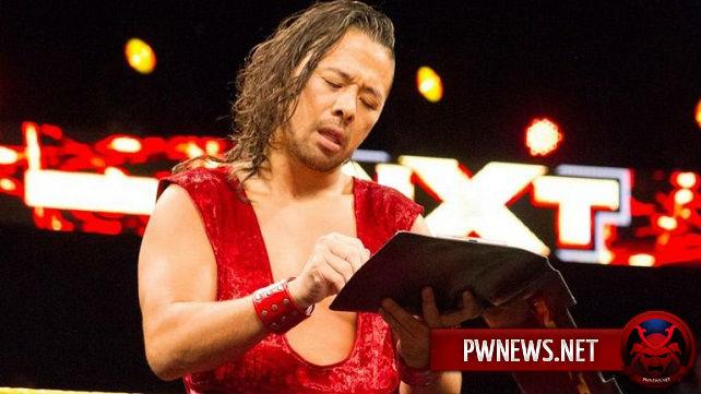 Возможный признак скорого перехода Шинске Накамуры в основной ростер WWE
