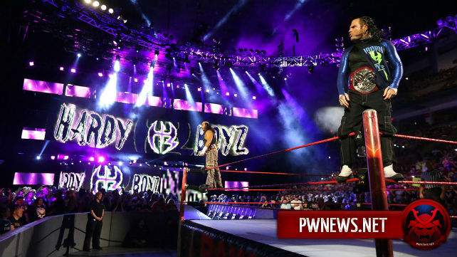 WWE планируют использовать гиммик «Сломленных Харди»