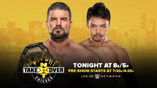 Результаты NXT TakeOver: Chicago