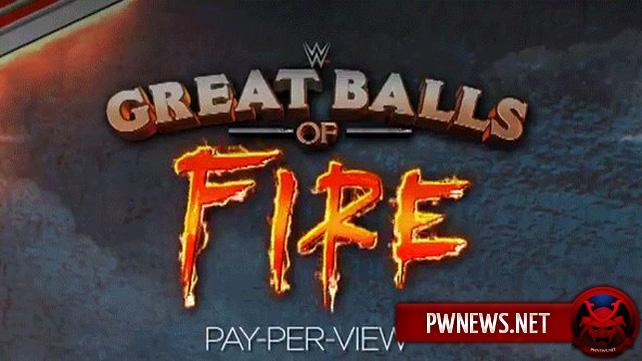 WWE, как сообщается, получили обвинение в нарушении авторских прав из-за названия PPV Great Balls of Fire
