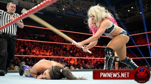 Закулисные новости о том, почему матч Алексы Блисс и Бэйли на Extreme Rules 2017 вышел коротким