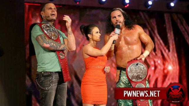 Закулисные новости о том, почему Харди Бойз выбрали матч в стальной клетке на PPV Extreme Rules
