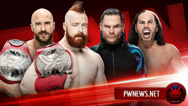 Титульный матч назначен на предстоящий выпуск Raw