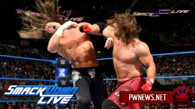Как поединок Дольфа Зигглера и ЭйДжей Стайлза повлиял на просмотры SmackDown?
