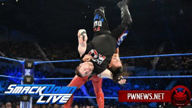 Как поединок Кевина Оуэнса и Шинске Накамуры повлилял на просмотры SmackDown?
