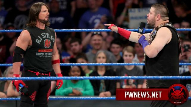 Курьезный момент на Talking Smack из-за сегмента ЭйДжей Стайлза и Кевина Оуэнса; Заметка о том, кто находился за кулисами SmackDown