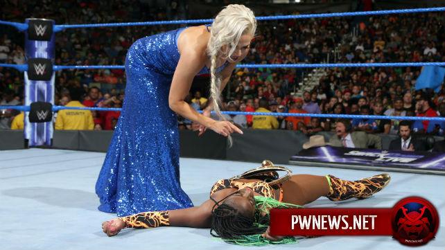 Причина попадания Ланы на высокую позицию в женском ростере WWE