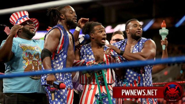 На SmackDown была сделана отсылка к эротичным видео Ксавье Вудса и Пейдж; Дэниал Брайан «отстранил» Джеймса Эллсворта