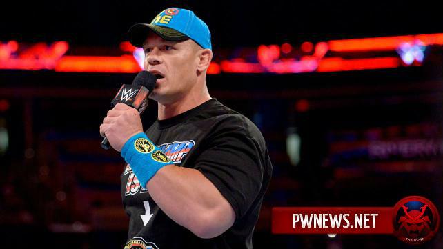 О том, будет ли Джон Сина появляться на Raw до SummerSlam