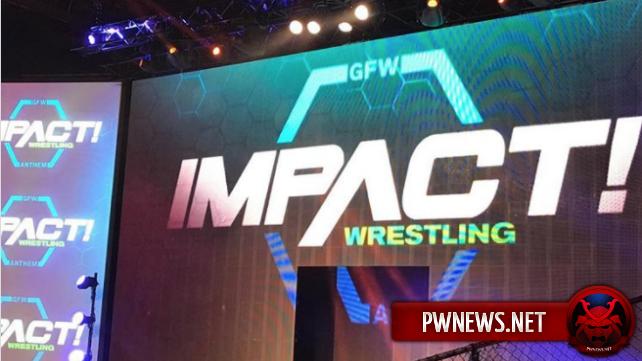 Немаловажное событие на записях GFW Impact (СПОЙЛЕРЫ); Промоушн немного изменил свой логотип