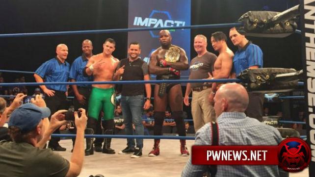 Некоторые подробности GFW Impact Destination X, мэр Орландо и жертва теракта в гей-клубе посетили записи шоу, и не только
