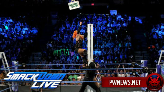 Как ре-матч женского Money in the Bank матча повлиял на просмотры SmackDown?