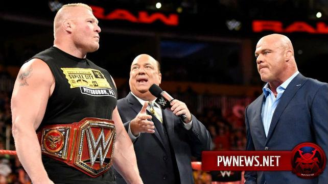 О будущем Брока Леснара в WWE