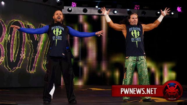 Причина отсутствия Харди Бойз на минувшем Raw