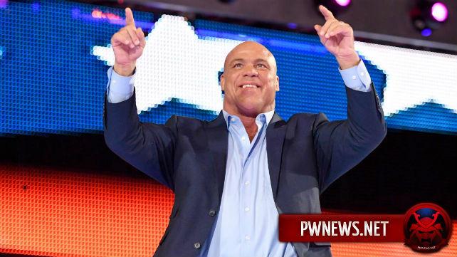 В WWE, как сообщается, не планируют задействовать Курта Энгла в качестве рестлера и отказались от идеи матча Энгла с Роллинсом