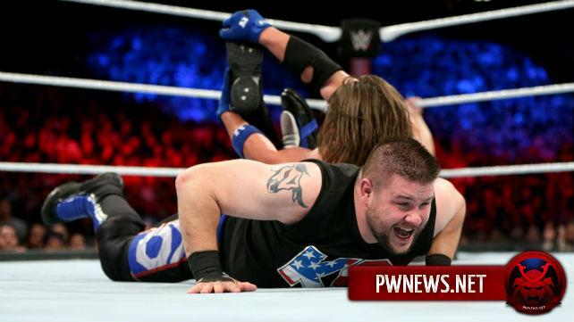 WWE, как сообщается, в последний момент изменили концовку матча Кевина Оуэнса и ЭйДжей Стайлза на Battleground