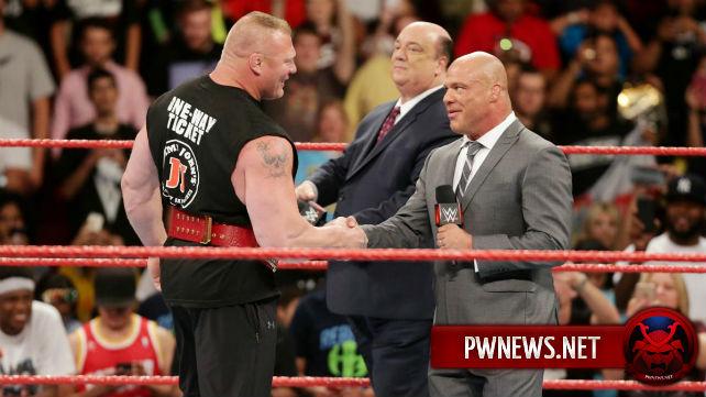 Закулисное обновление по поводу контракта Брока Леснара с WWE и его продлении