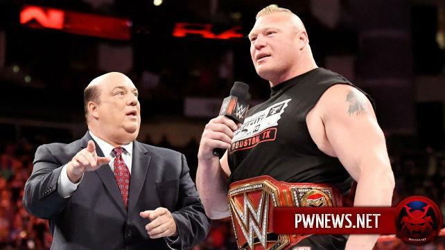 Брок Леснар в скором времени проиграет чемпионство Вселенной WWE и объявится в UFC?!