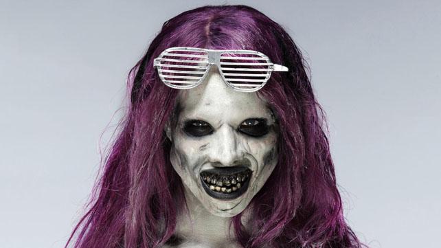 Саша Бэнкс — зомби (12 фото)