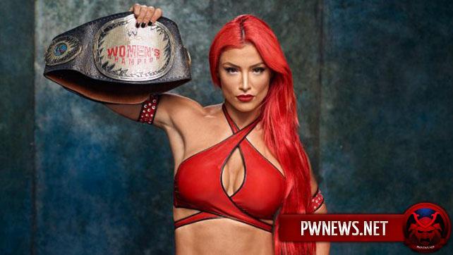 WWE в целях Евы Мари готовили титульные пластины; Евка Мари далеко не собирается на веки веков говорить прости  со WWE