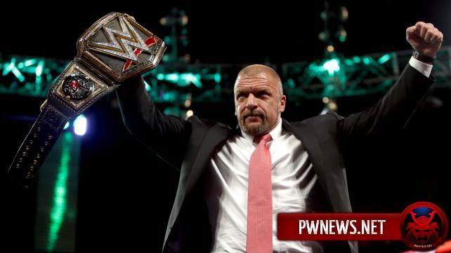 Трипл Эйч будет защищать титул перед WrestleMania?
