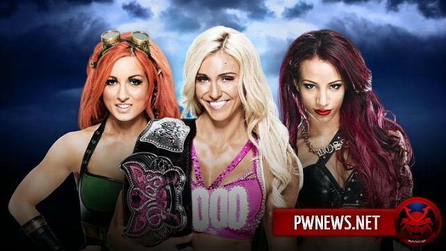 Charlotte vs. Sasha Banks vs. Becky Lynch - WrestleMania 32