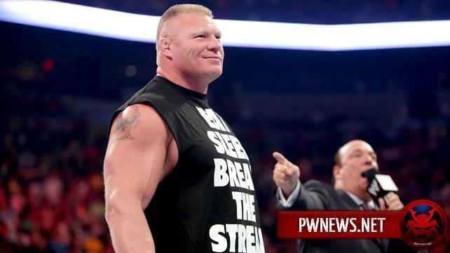 Брок Леснар заявлен на первое RAW после WrestleMania 32