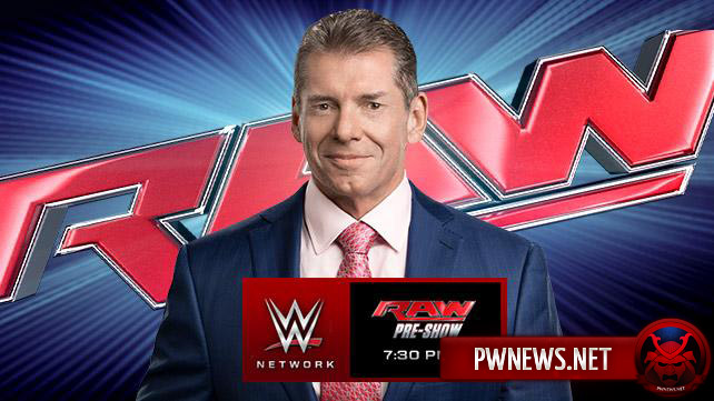 Превью к WWE Monday Night RAW 28.12.2015
