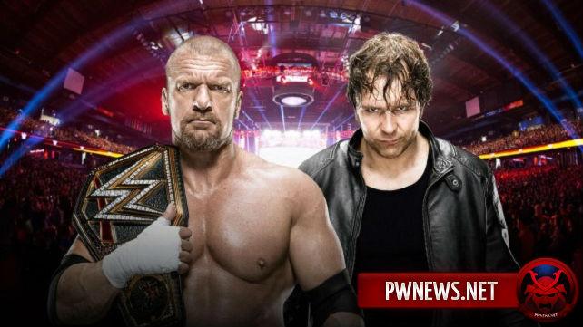 WWE переименовали специальное шоу; Матч Трипл Эйч-Эмброуз