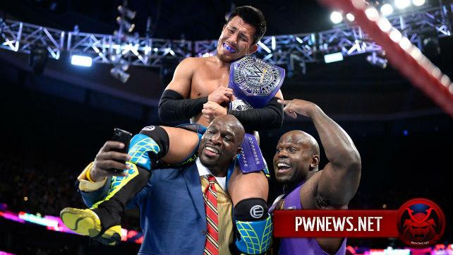 Известна причина того, почему Акира Тозава выиграл чемпионство полутяжеловесов на прошлом Raw