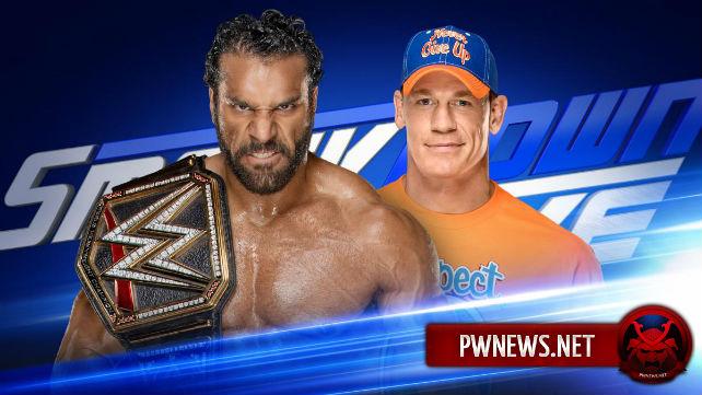 На SmackDown пройдет матч Джона Сины и Джиндера Махала