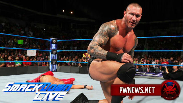 Как командный поединок с Рэнди Ортоном и Шинске Накамурой повлиял на просмотры SmackDown?