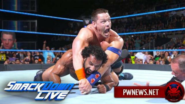 Как поединок Джиндера Махала и Джона Сины появлиял на рейтинг SmackDown?