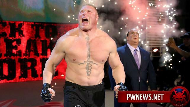 Брок Леснар заявлен на SmackDown