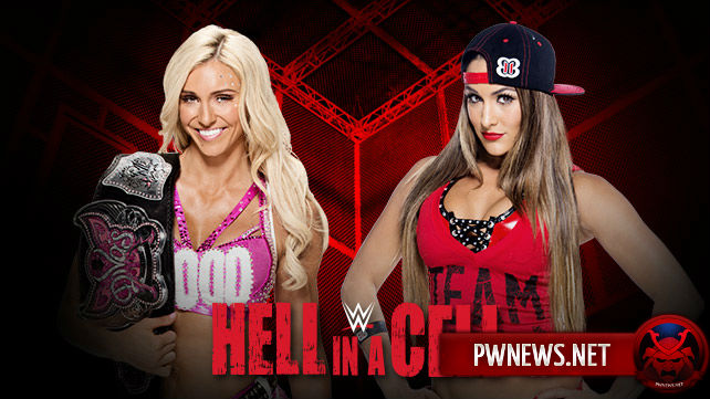 Nikki Bella vs. Charlotte — Hell in a Cell 2015