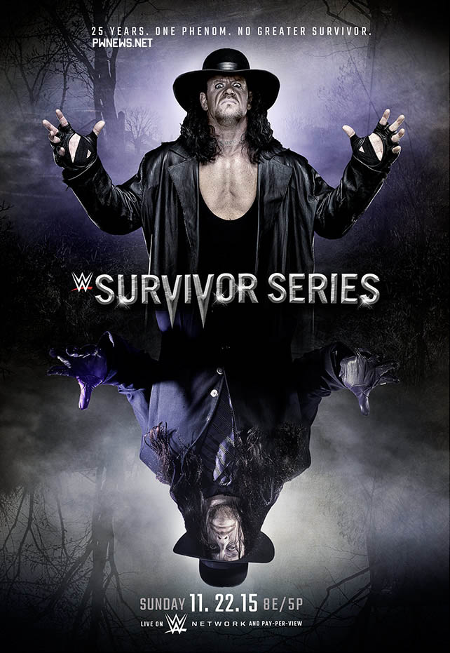 Постер к Survivor Series 2015