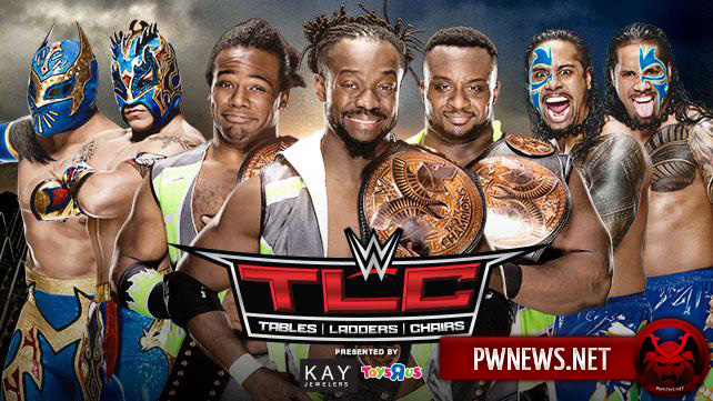 The New Day vs. The Usos vs. The Lucha Dragons