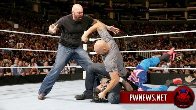 Крупное событие на Monday Night RAW