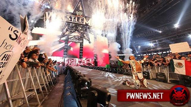 О Шоне Майклзе на WrestleMania 32