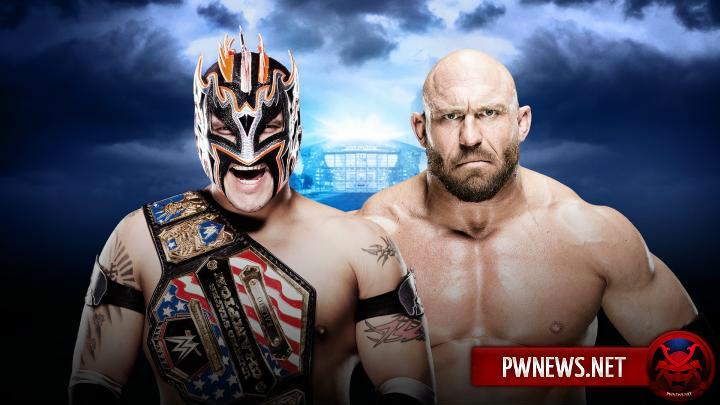 Kalisto vs. Ryback - WrestleMania 32