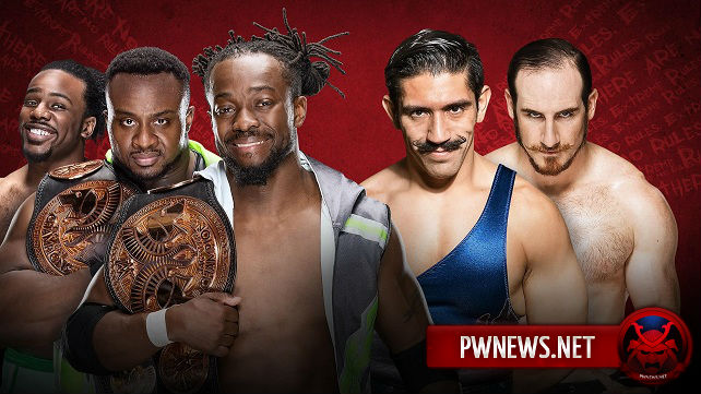 New Day vs. Vaudevillains - Extreme Rules