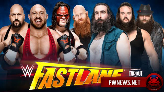 Ryback, Big Show & Kane vs. The Wyatt Family