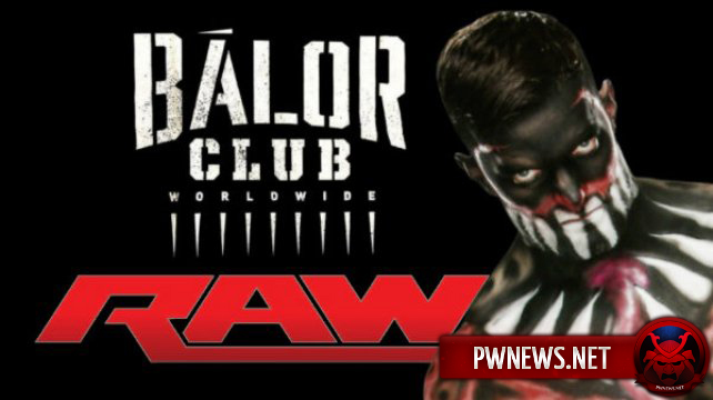 Финн Бэлор на RAW