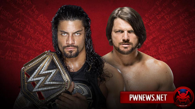 Roman Reigns vs. AJ Styles — Extreme Rules 2016