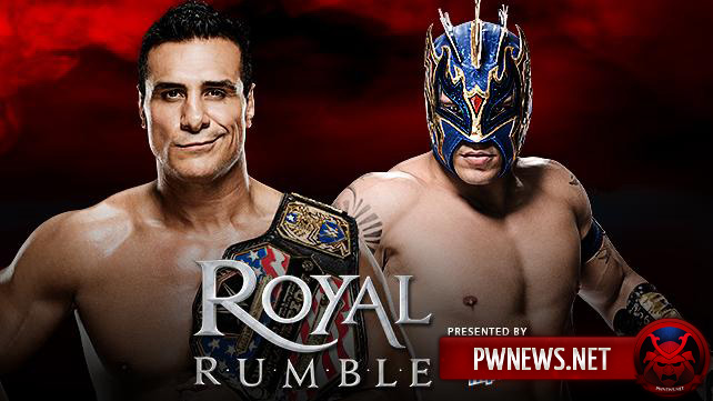 Alberto Del Rio vs. Kalisto — WWE Royal Rumble 2016