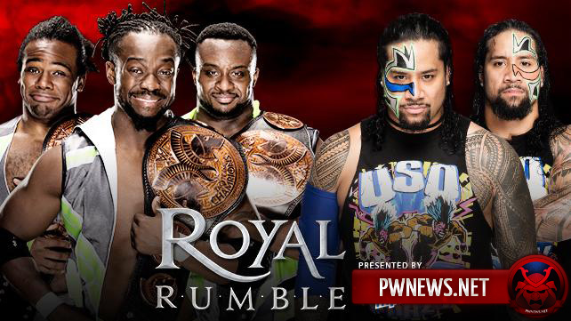 The New Day vs. The Usos — WWE Royal Rumble 2016