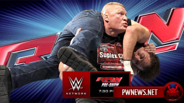 Превью к WWE Monday Night RAW 08.02.2016