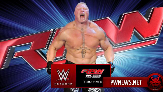 Превью к WWE Monday Night RAW 11.01.2016